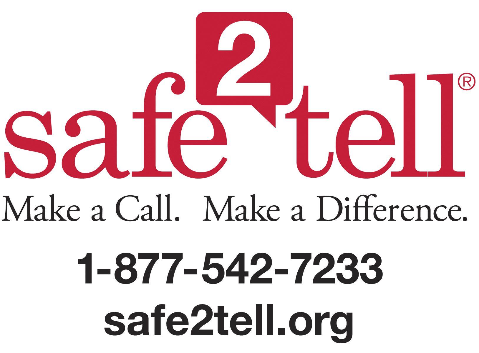 Safe 2 Tell Logo