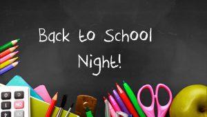 Back-to-School Night Image