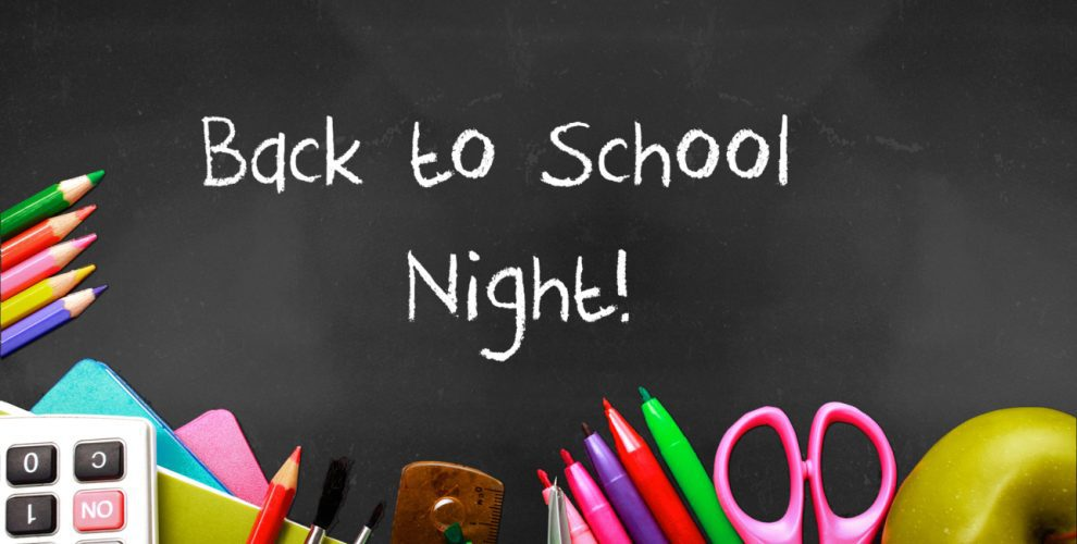 Back-to-School Night Image
