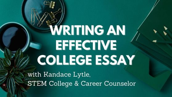 Writing a College Essay image