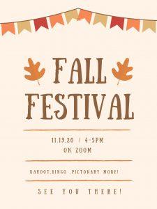 MS Fall Festival Poster