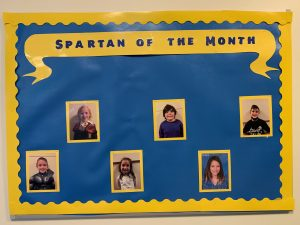 ES October Spartans of the Month