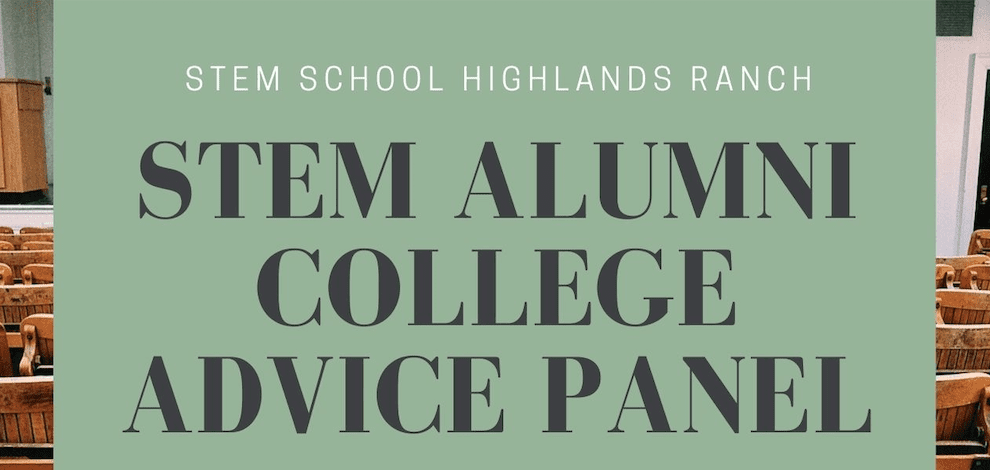 STEM Alumni College Advice Panel