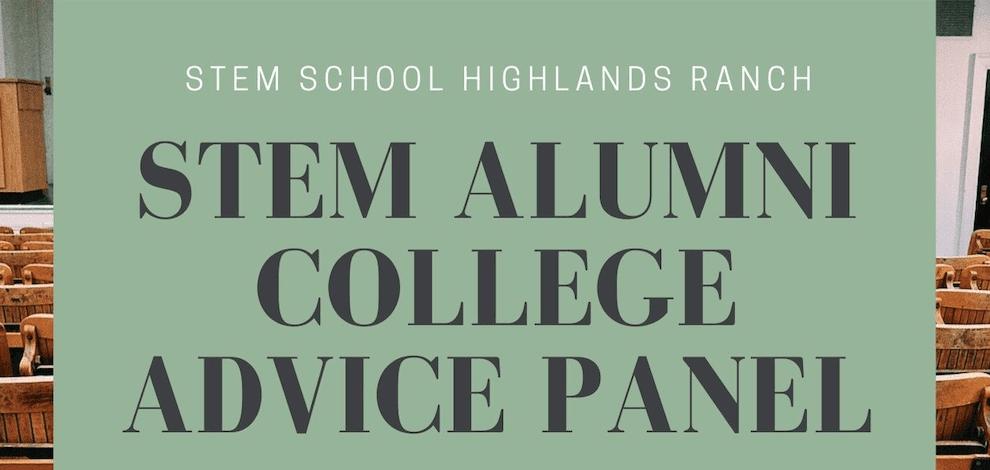 STEM Alumni College Advice Panel