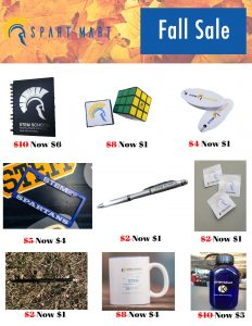 Spart Mart Fall Sale
