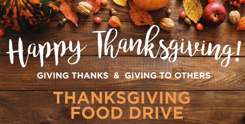 Thanksgiving Day Food Drive Image