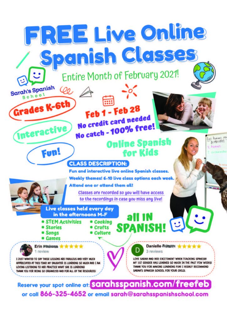 Enrichment-Spanish Lessons
