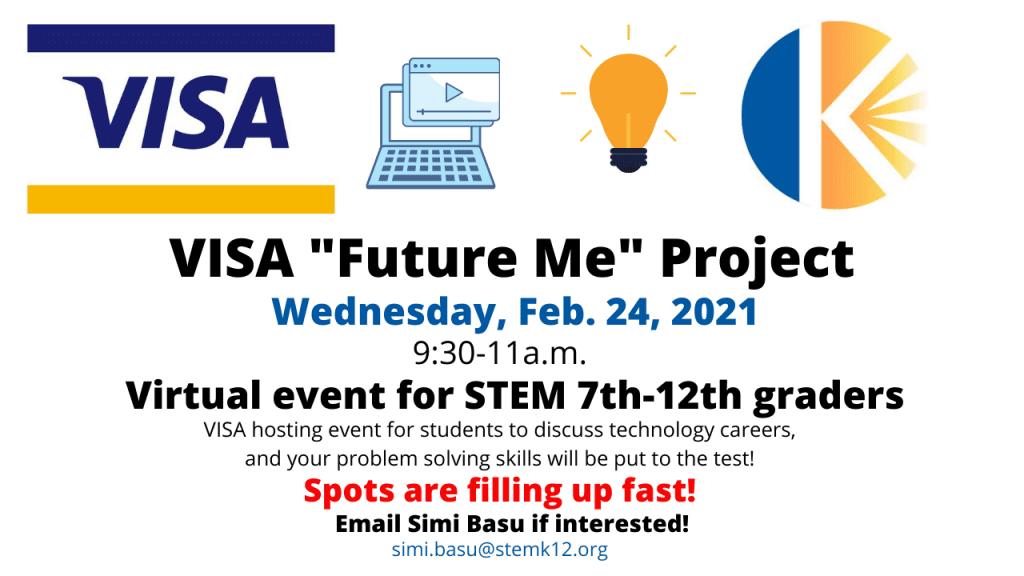 VISA Future Me Project