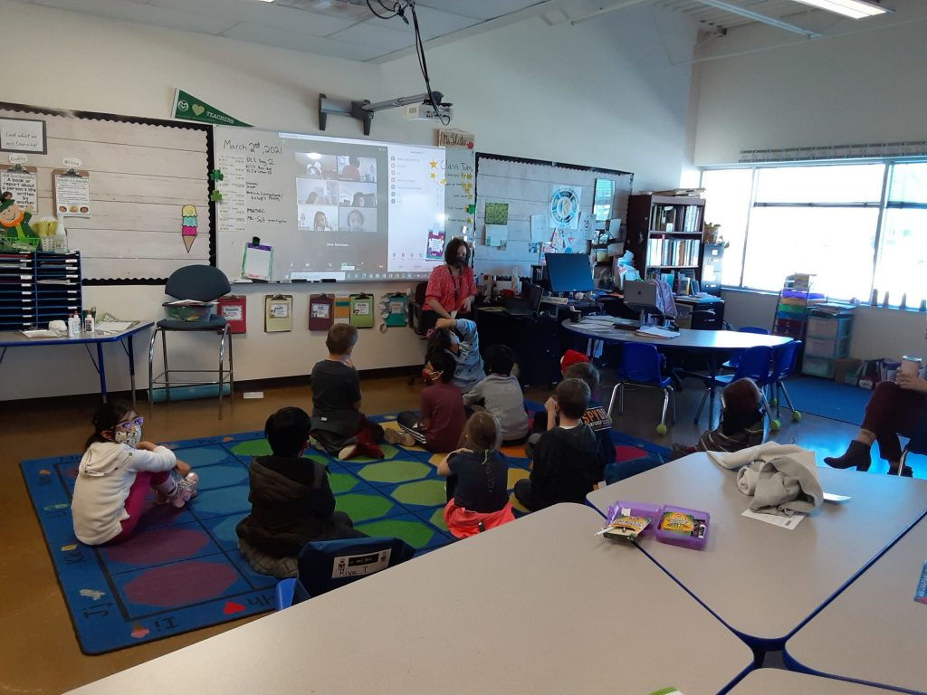 Coleen Sullivan Reads to 2nd Grade