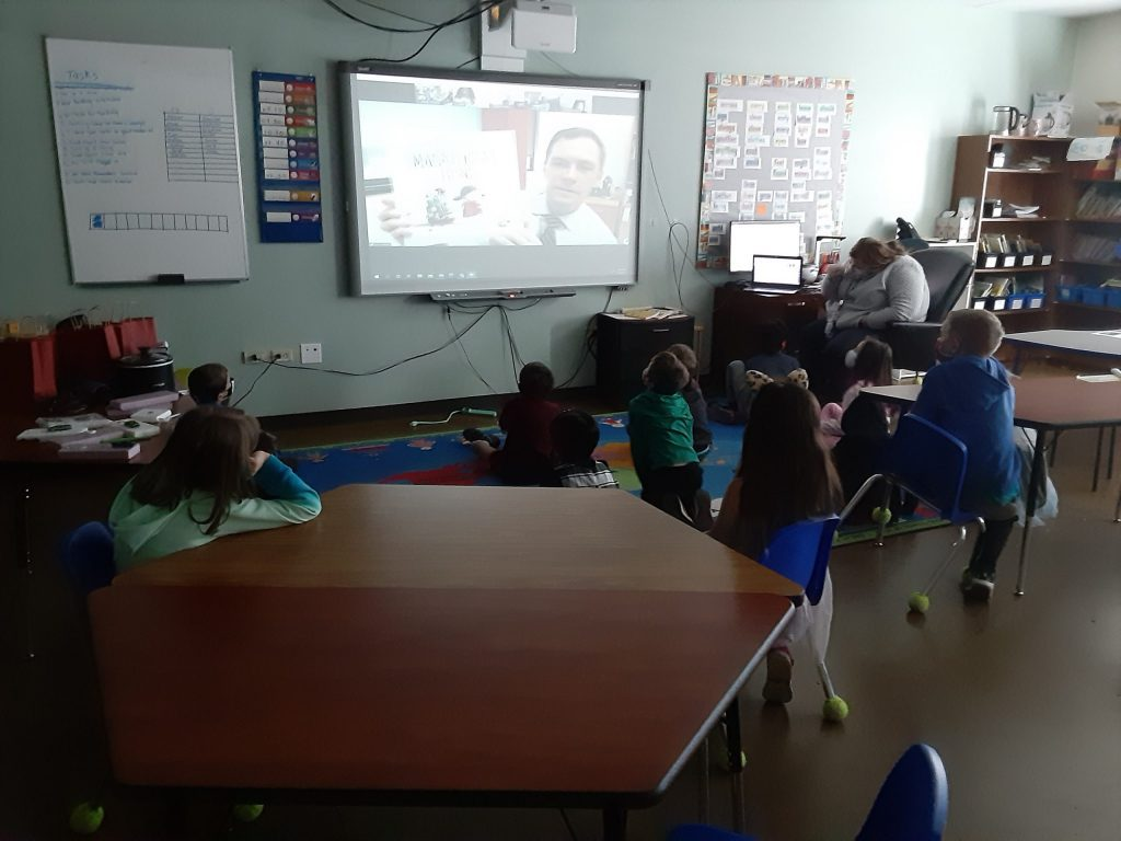 DA John Kellner Readers to 2nd Grader