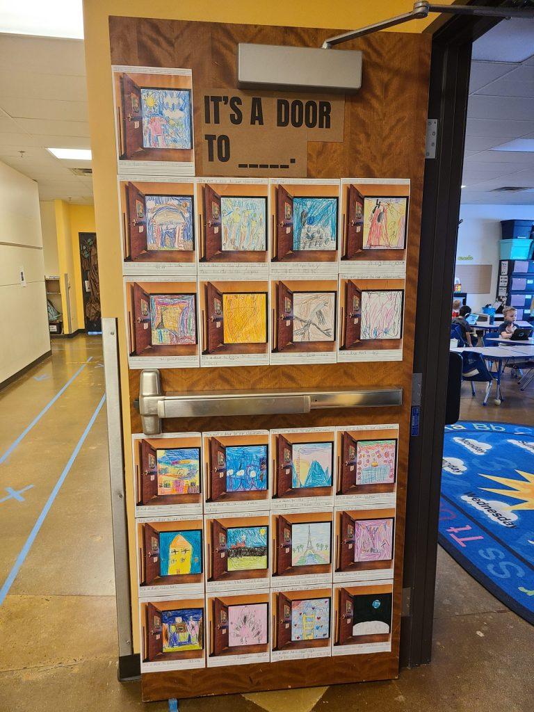 Love of Reading Door