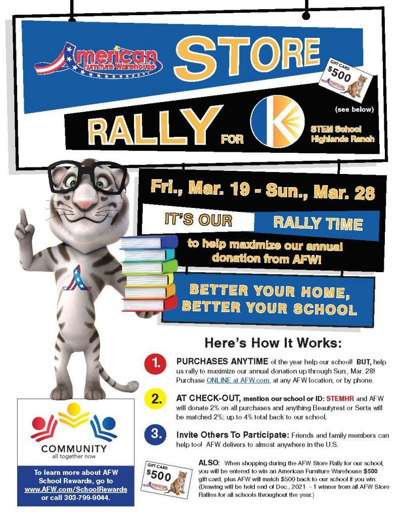 STEM PTO Rally Days