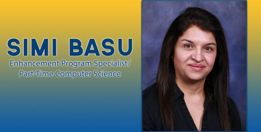 Simi Basu Enhancement Program Specialist