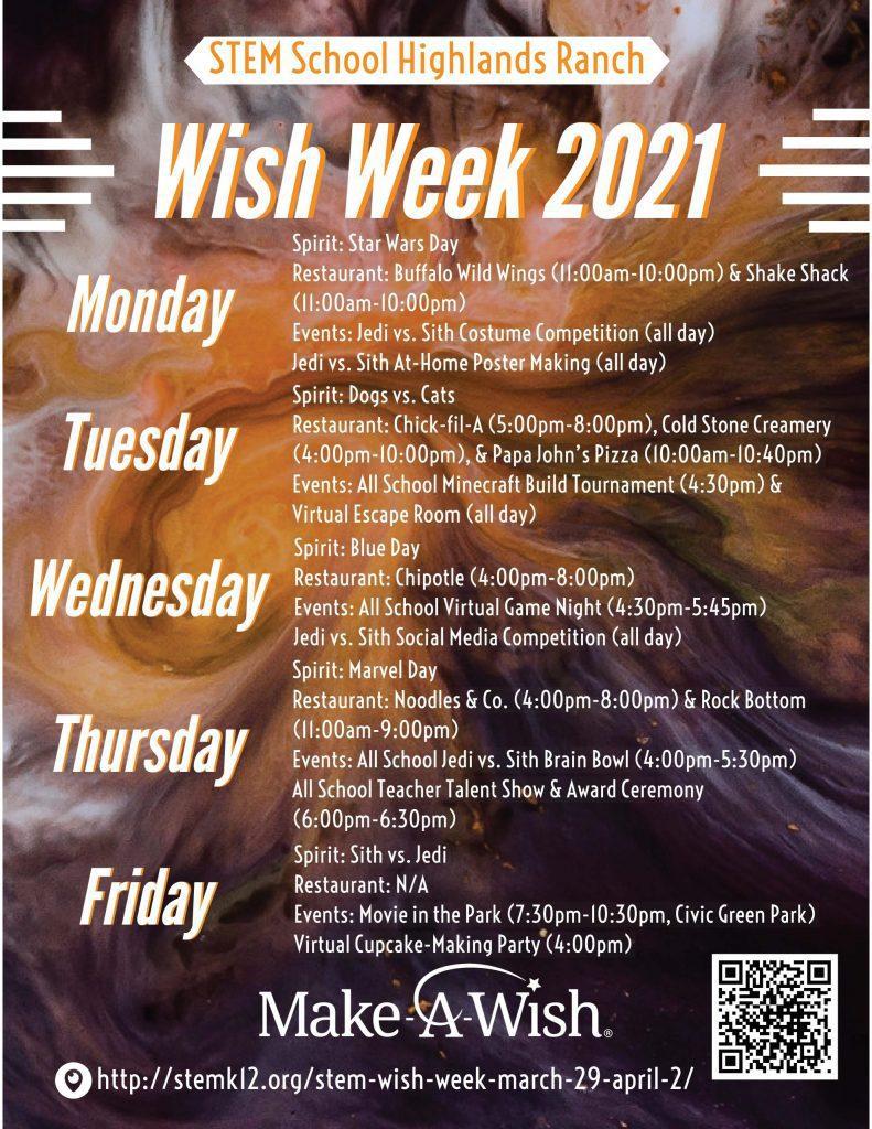 Wish Week 2021 Poster