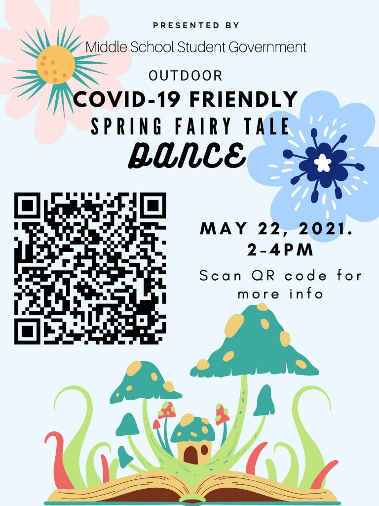 Spring Fairy Tale Dance Poster