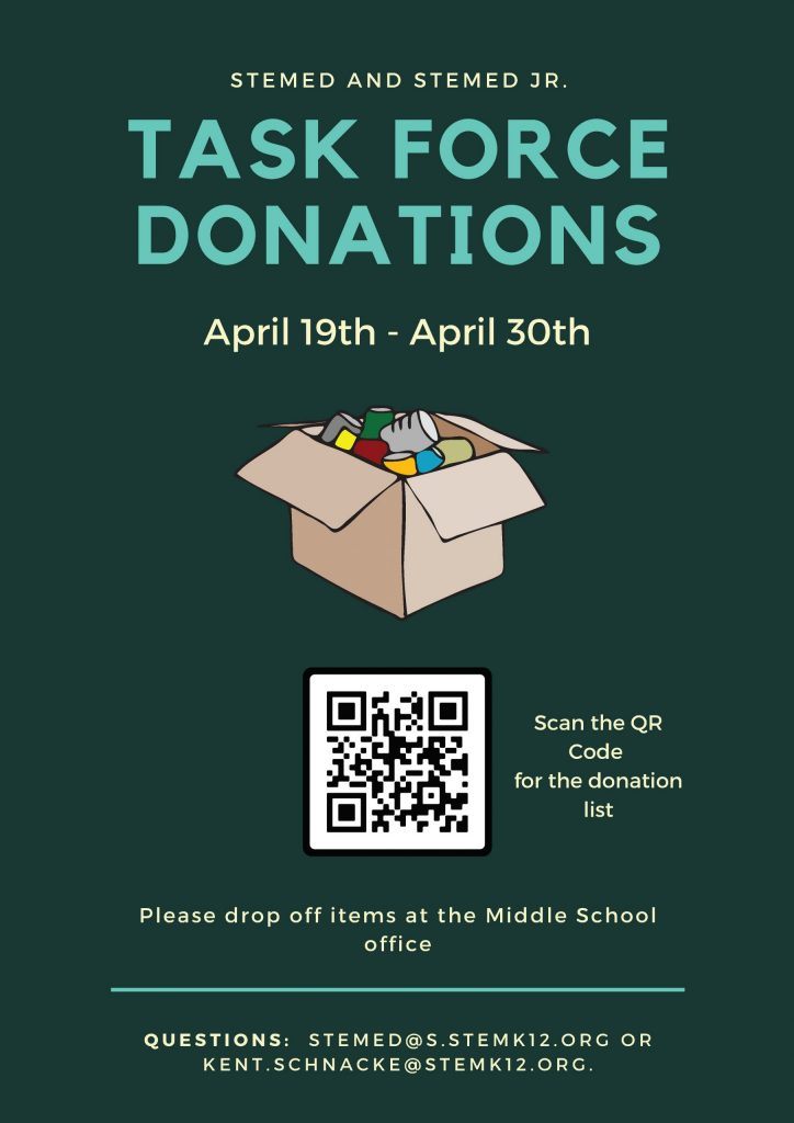 SteMed-Donation Drive