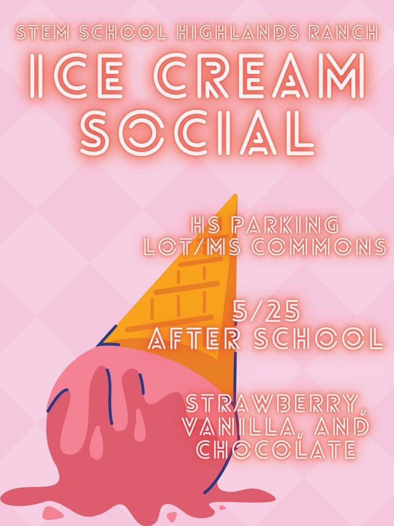 Middle School Ice cream social