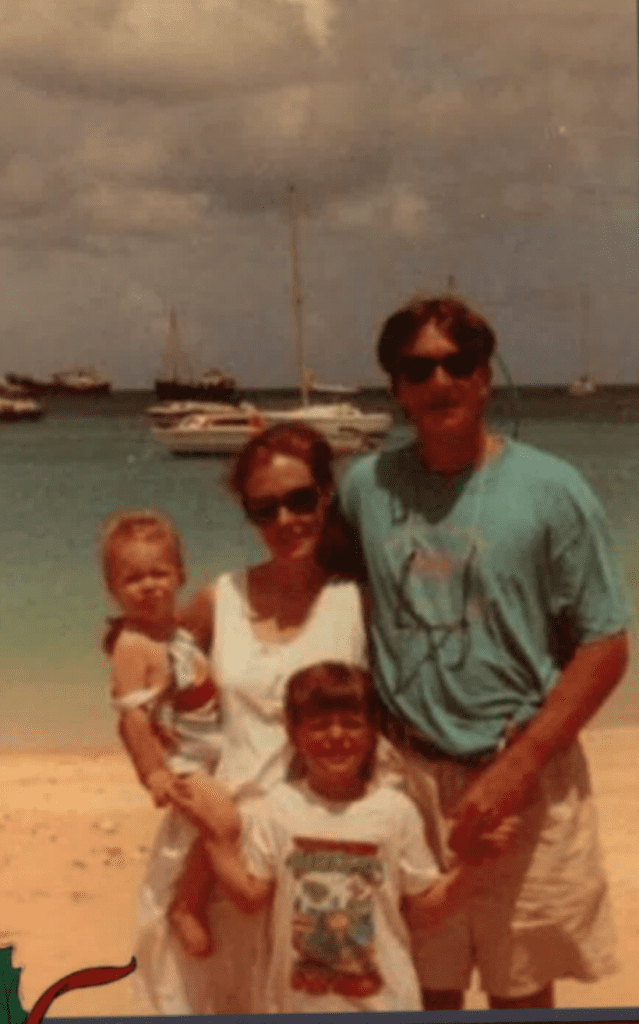 Dr Eucker with Family