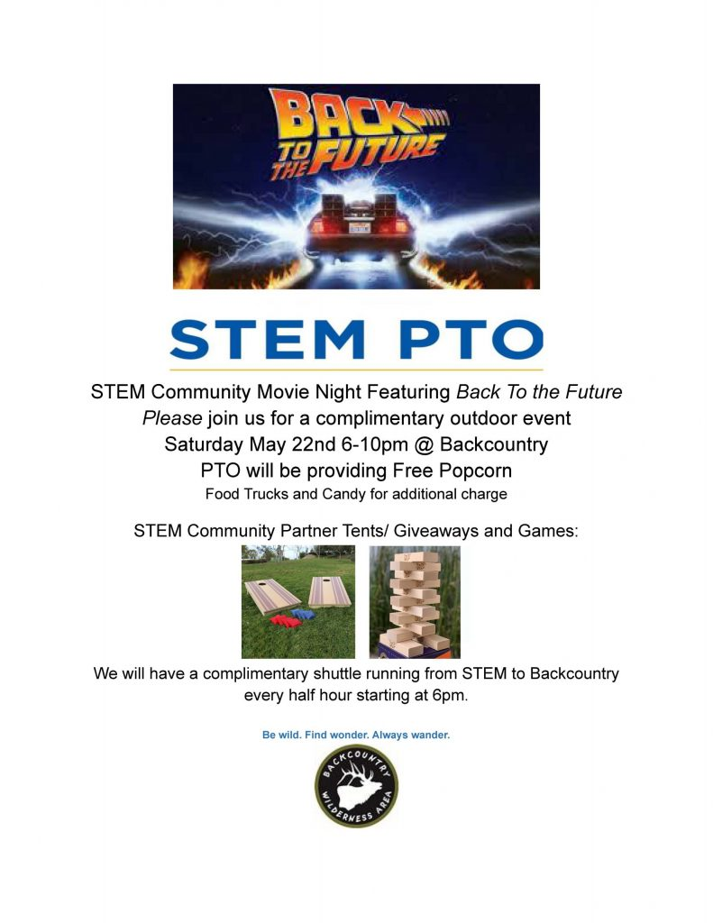 STEM Community Movie Night Featuring Back To the Future