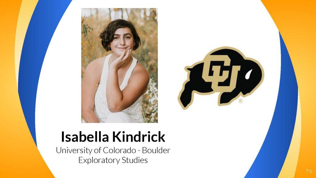 Isabella Kindrick