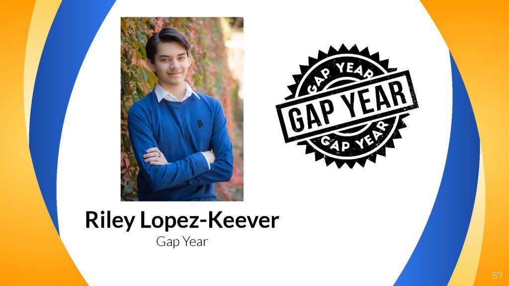Riley Lopez-Keever