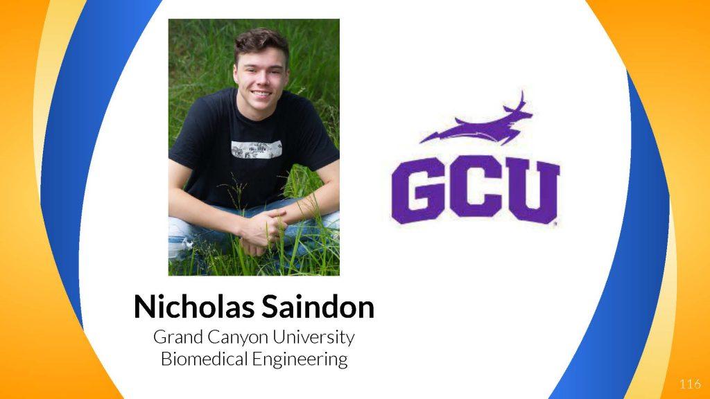 Nicholas Saindon