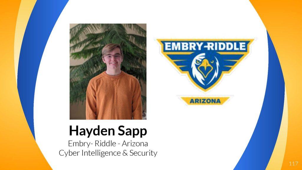 Hayden Sapp