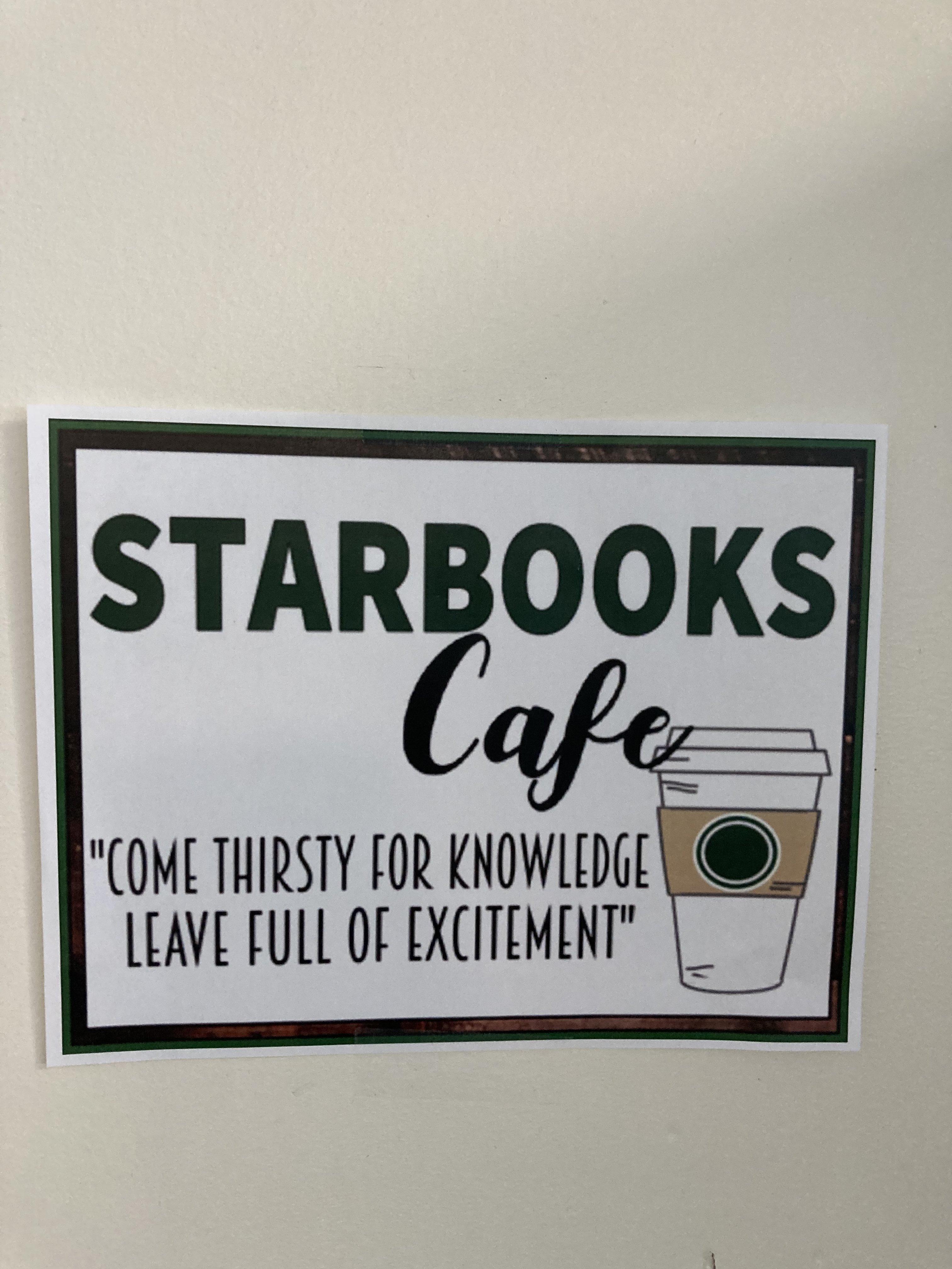 Starbooks - Mrs. Martin