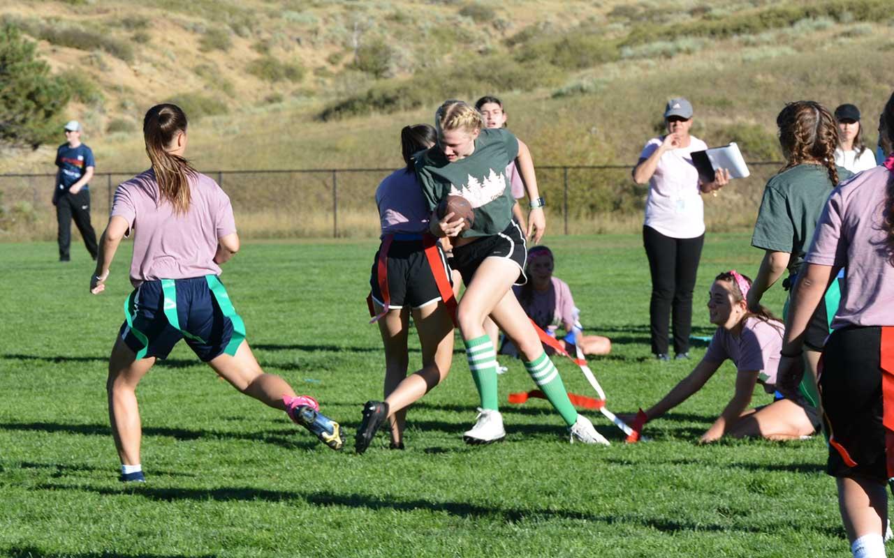 Girls' Powder Puff Football