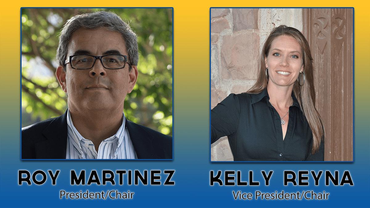 Roy Martinez and Kelly Reyna